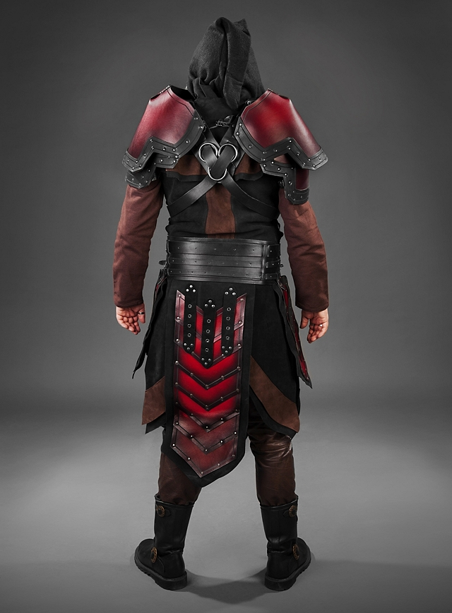Dwarf leather armour - TheVikingStore.co.uk